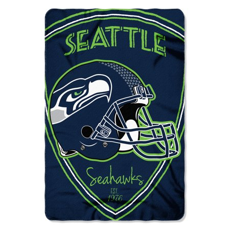 "- NFL - Seattle Seahawks , ""Shield"" 40""x 60"" Fleece Throw"