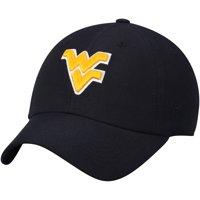 West Virginia Mountaineers Top of the World Primary Logo Staple Adjustable Hat - Navy - OSFA