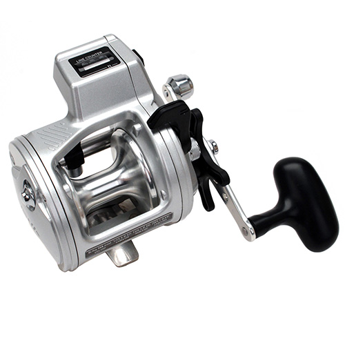 Daiwa Accudepth Plus-B Line Counter Reel, 1 Ball Bearing, 14 lbs/300 yds