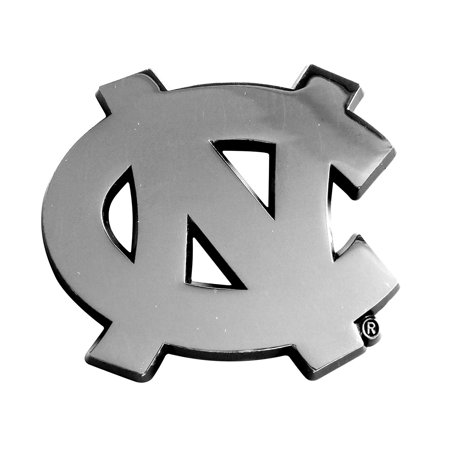 14902 NCAA UNC University of North Carolina - Chapel Hill Tar Heels Chrome Team Emblem, The perfect way to accessorize your ride and show team pride By Fanmats