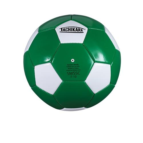 Soccer Ball by Tachikara - Size 5, Kelly/White