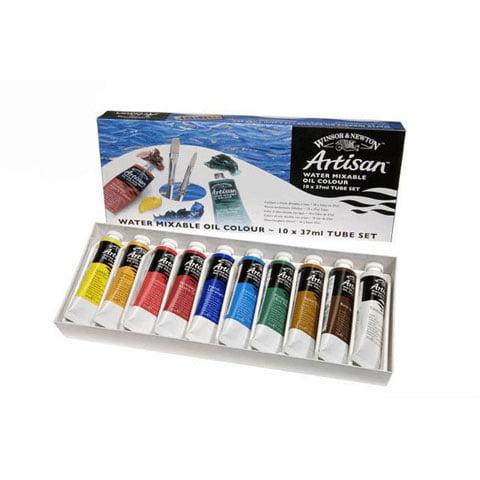 Winsor & Newton Artisan Set - Ten 21mL Tubes