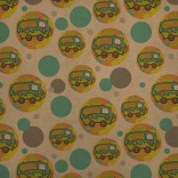 Scooby-Doo The Mystery Machine Premium Kraft Gift Wrap Wrapping Paper Roll