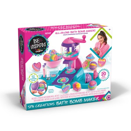 Be Inspired Spa Creations Bath Bomb Maker by Cra-Z-Art