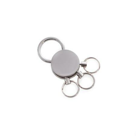 Bey Berk Silver Plated Valet Key Ring