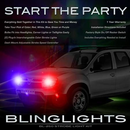 New Dacia Duster Custom Xenon Head Light Strobe Lamp - Double Flash Xenon Strobe Light