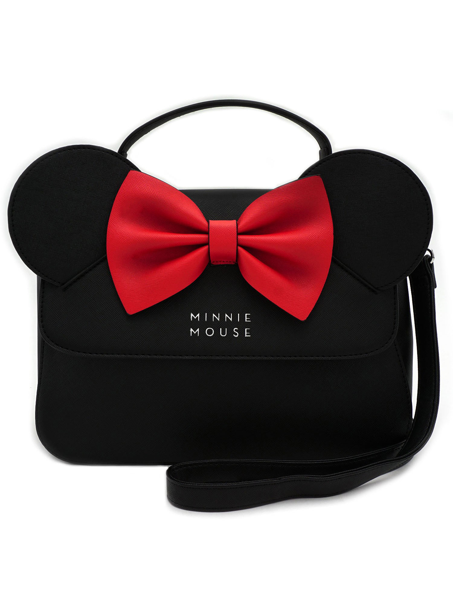 Loungefly Licensed Disney Minnie Mouse Ears & Red Bow Kawaii Crossbody Purse