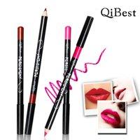 12pcs/Set Waterproof Lip Liner Pencil Long Lasting Lipliner Makeup Tools