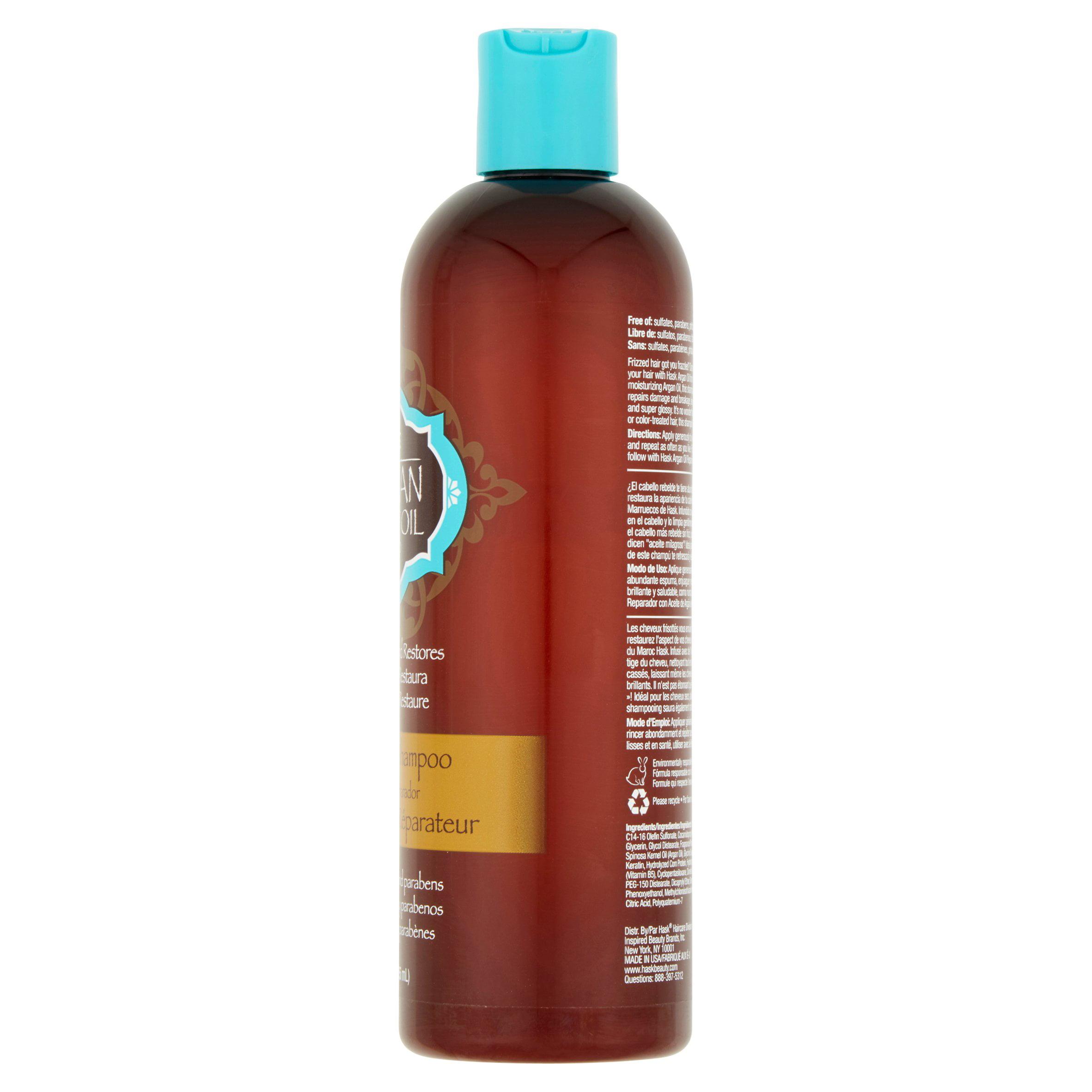 Hask Argan Oil Repairing Shampoo 12 Oz Walmart