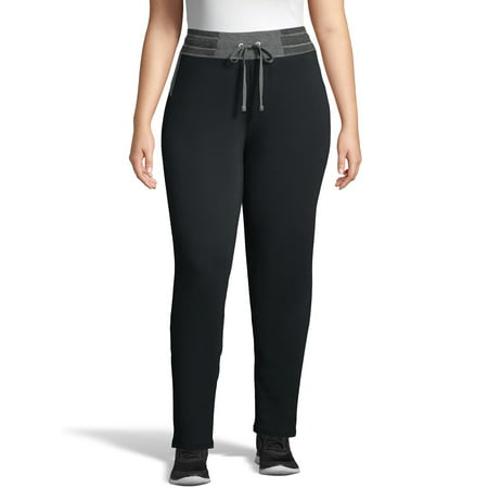 Just My Size Women's Plus Size French Terry Performance Sweatpants