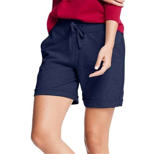 Hanes Women/'s French Terry Bermuda Pocket Short O4681