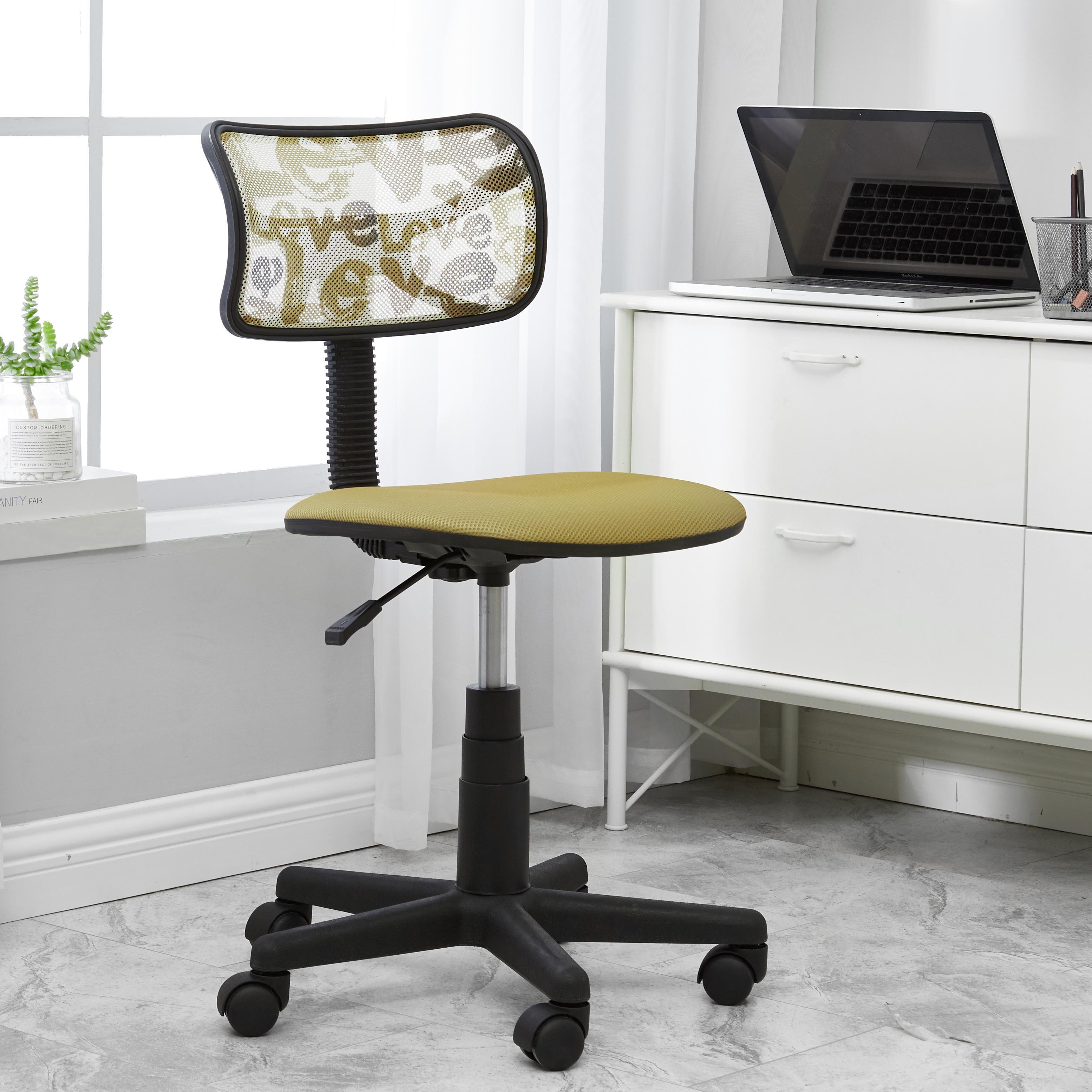 Picture of: Urban Shop Swivel Mesh Office Chair Multiple Colors Walmart Com Walmart Com