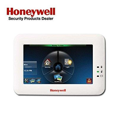 Honeywell adt 6280w color touch-screen keypad with voice,...