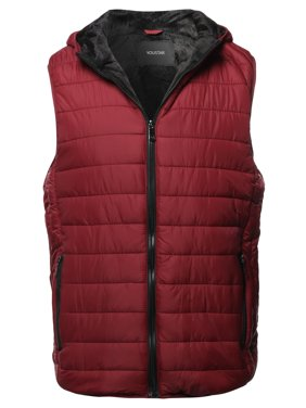 6645028dd Free shipping. Product Image FashionOutfit Men's Casual Light Padded Fur  Lining Hoodie Vest