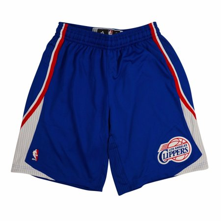 Los Angeles Clippers NBA Adidas Blue Authentic On-Court Climacool Team Game Shorts For Men
