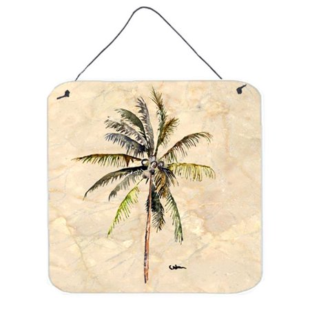 Carolines Treasures 8482DS66 Tree - Palm Tree Aluminium Metal Wall or Door Hanging Prints - image 1 de 1