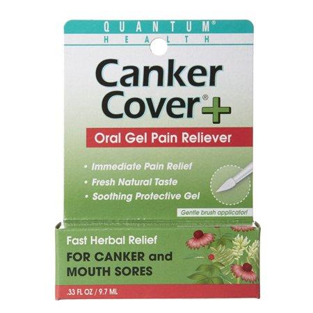 Quantum Health Canker Care Gel, 0.33 Oz