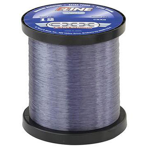 P-Line CXX-Xtra Strong Service Bulk Spool Fishing Line, Smoke Blue