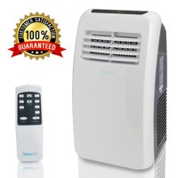 SereneLife SLPAC8 - Portable Air Conditioner - Compact Home AC Cooling Unit with Built-in Dehumidifier & Fan Modes, Includes Window Mount Kit (8,000 BTU)