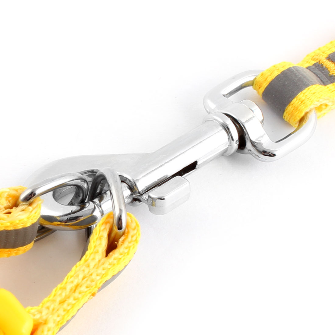 Dog Outdoor Buckle Adjustable Reflective Strap Chest Rope Harness Leash Yellow - image 1 of 2