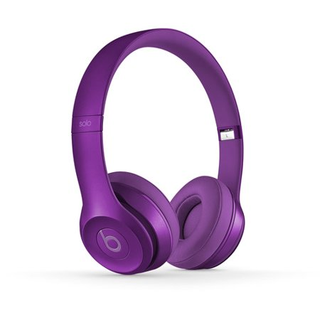 beats by dr dre solo2 wireless on ear headphones imperial purple. Black Bedroom Furniture Sets. Home Design Ideas