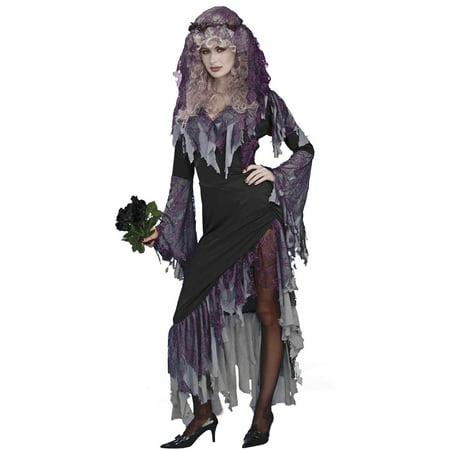 Zombie Bride Women's Costume - Size STANDARD - Tiffany Bride Of Chucky Costume