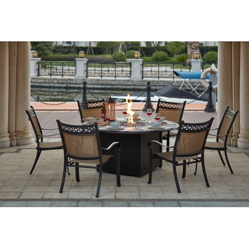 Darby Home Co Wabon 7 Piece Dining Set