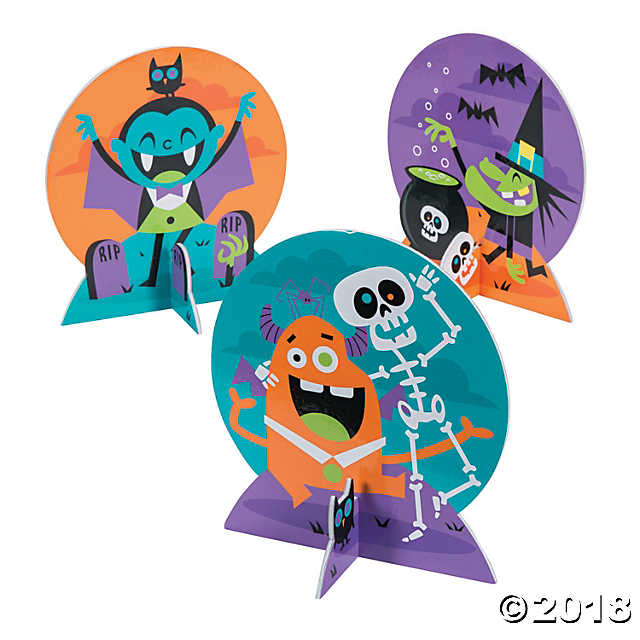 Goofy Ghouls Centerpieces(pack of 1)