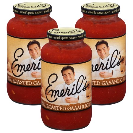 (3 Pack) Emeril'sî Roasted Gaaahlic Pasta Sauce 25 oz.