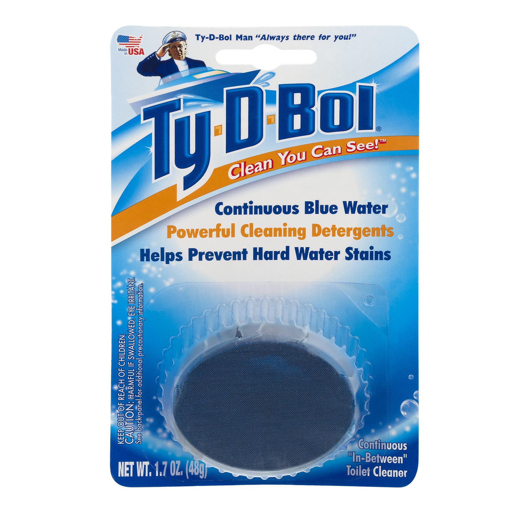 Ty-D-Bol Toilet Cleaner, 1.7 OZ