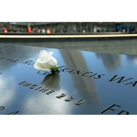 LAMINATED POSTER New York Manhattan Ground Zero 911 Memorial Poster Print 24 x 36 ()
