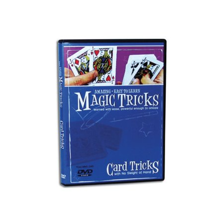 Amazing Easy to Learn Magic Tricks DVD: Card Tricks with No Sleight of Hand Dvd Amazing Magic Tricks