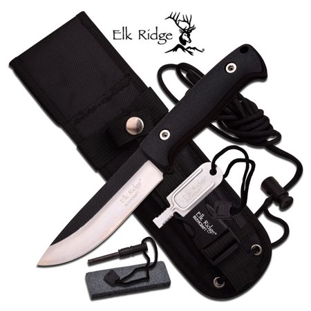 Fixed Blade Black (Fixed Blade Green Micarta Handle)