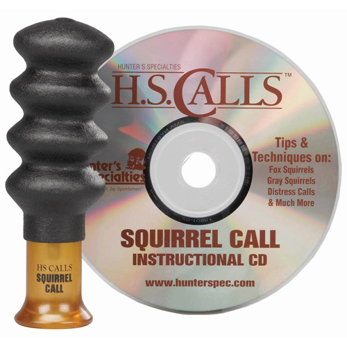 Hunter's Specialties Squirrel Call with Instructional CD