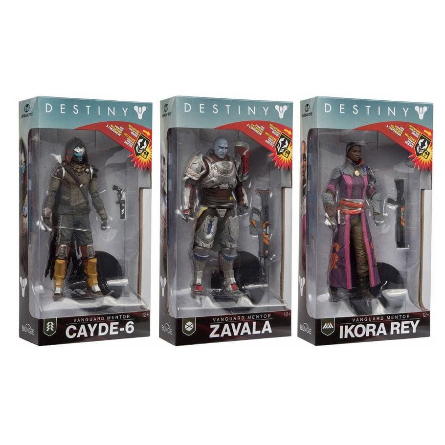 Destiny Figure SEALED IN BOX Zavala NEW ITEM
