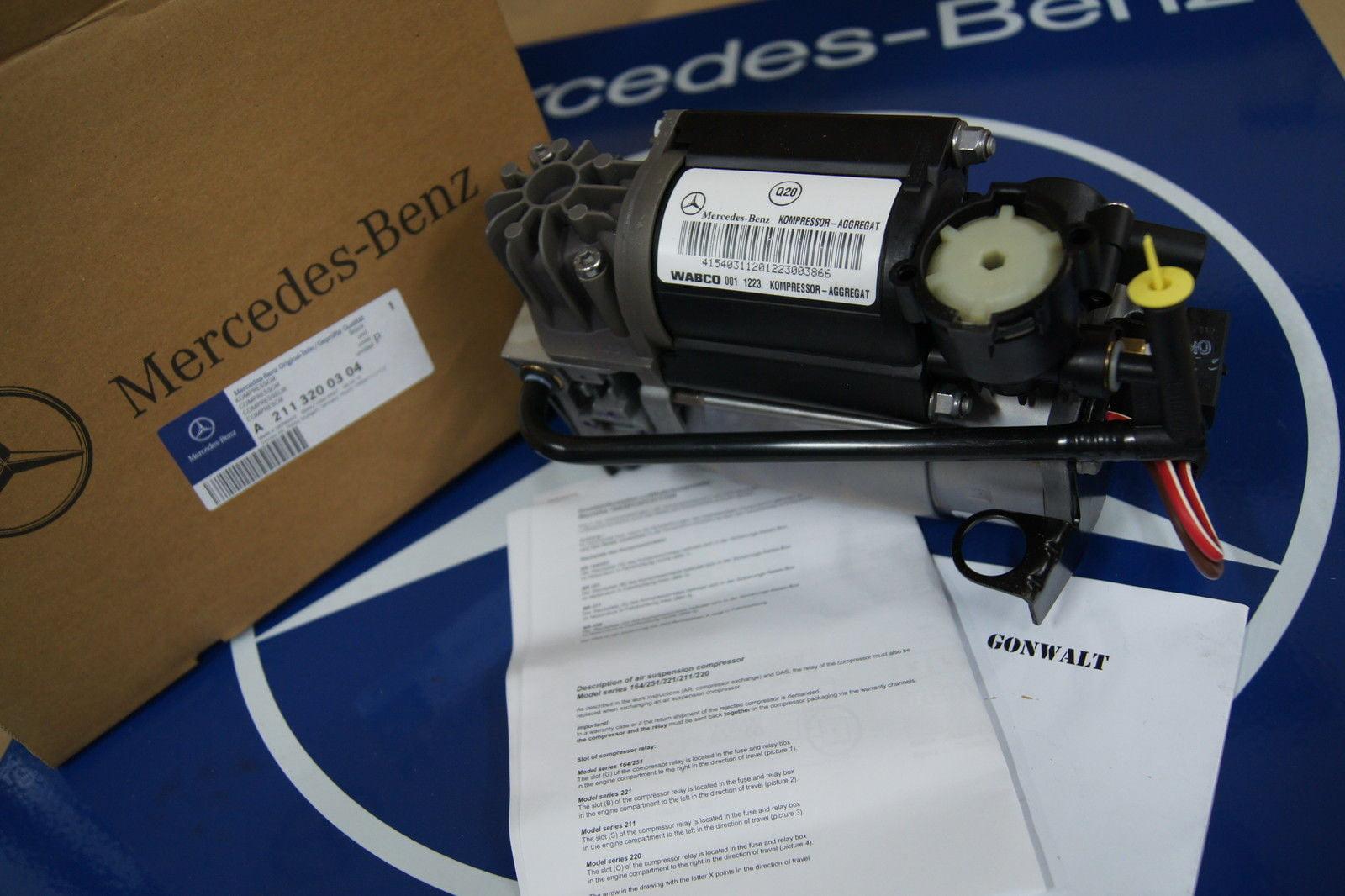 Mercedes Benz Airmatic Suspension Compressor W220 W211 W220 S E CLS  2113200304