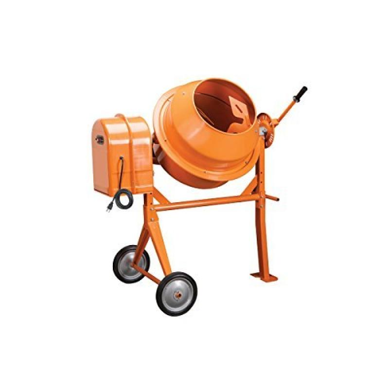 1 3 Hp Electric Cement Mixer 3.5 Cubic Ft; 10.7 Amps, 36 RPM by