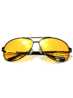 7c5d363b1f Product Image Fashion Men UV400 Yellow Lens Polarized Anti-Glare Night  Vision Sunglasses Car Driving Eyeglasses