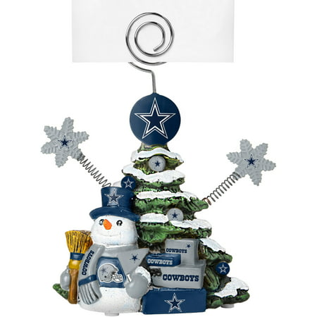 Topperscot by Boelter Brands NFL Tree Photo Holder, Dallas Cowboys Dallas Cowboys Art Glass Ornament