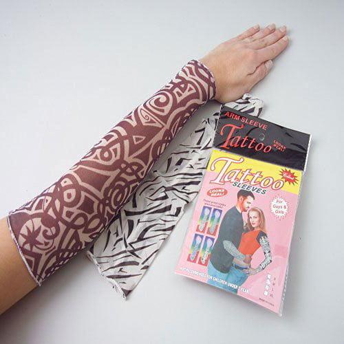 One Pair Fake Tattoo Sleeves