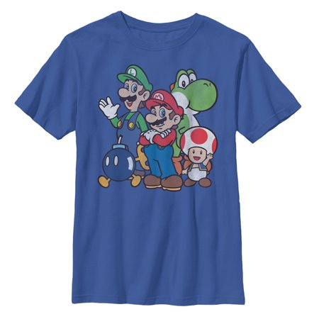 Nintendo Boys' Mario Super Bros T-Shirt