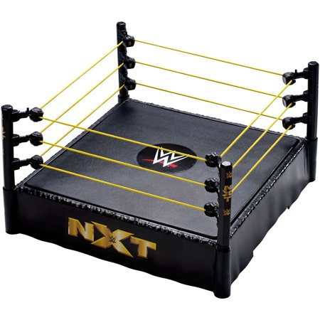 WWE NXT 14-Inch Wrestling Ring with Authentic