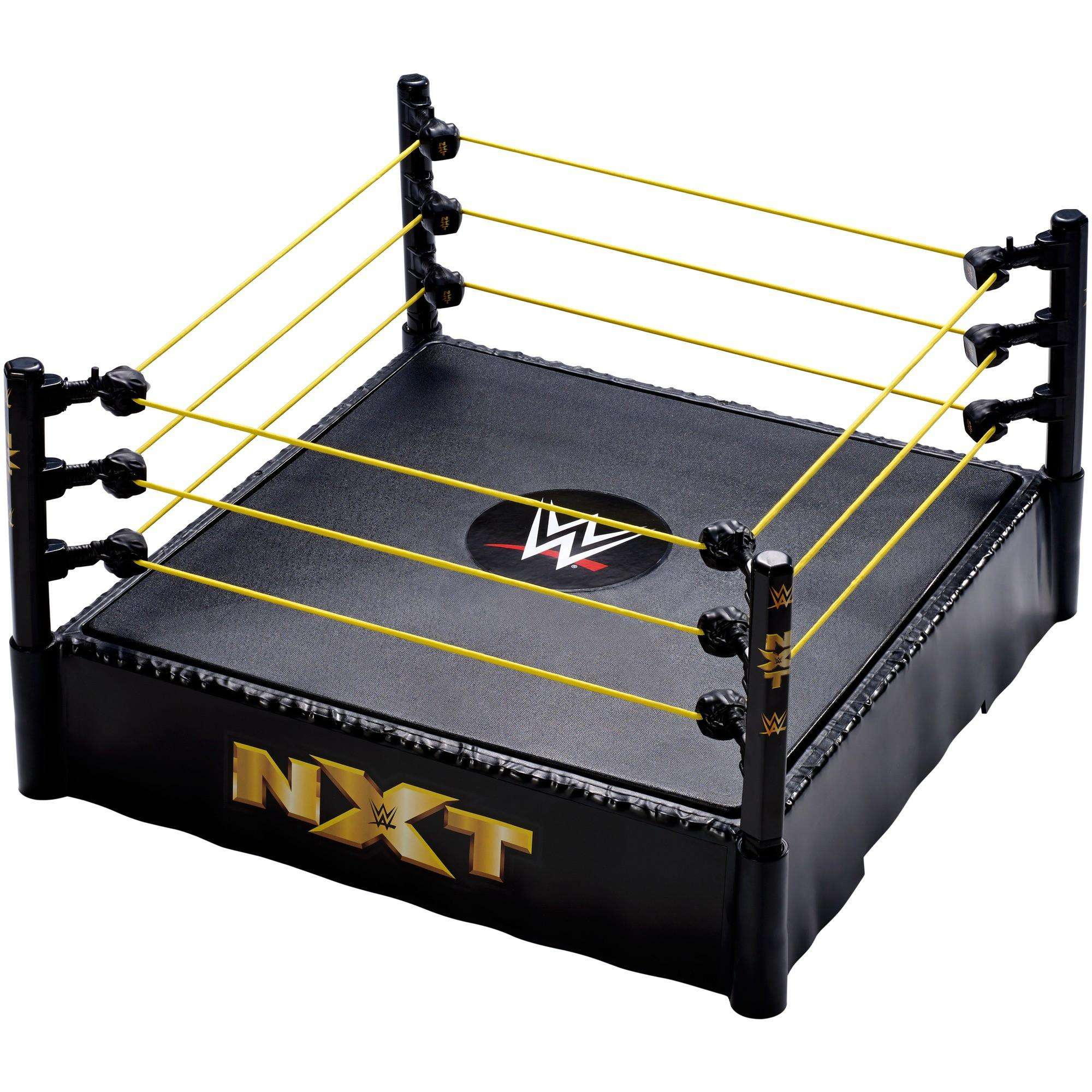 WWE NXT 14-Inch Wrestling Ring with Authentic Ropes