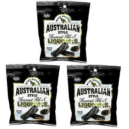 Australian Style Black Licorice - Australian Style - 4 oz, 3 (Australian Black Licorice)