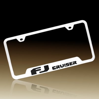 Toyota Fj Cruiser Polished Stainless Steel License Plate Frame