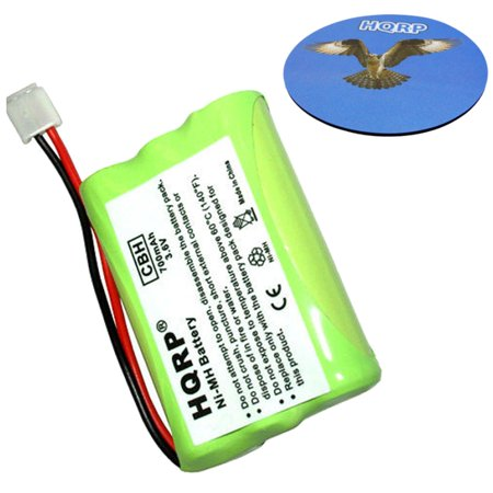 HQRP Phone Battery for AT&T / Lucent E5943B, E5944B, E5947B, E597-1, E598-1, E598-2 Cordless Telephone plus (Lucent Cordless Telephone)