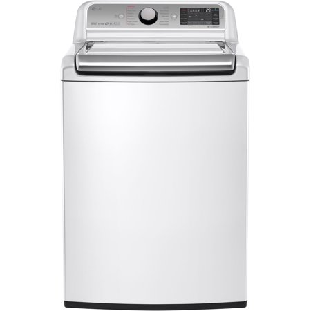 LG  White 5.2-cubic-foot Mega Capacity Top-load Washer with Turbowash Technology, Model