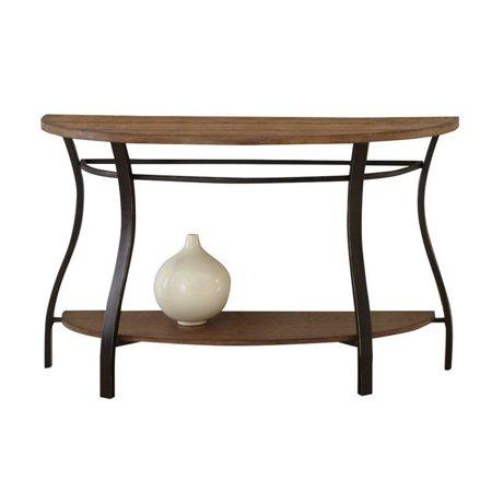 Steve Silver Company Denise Sofa Table in Light Oak Finish - image 2 de 2