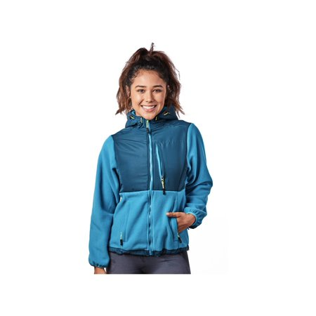 Alta Insulated Ski Jacket (Alta Women's Two-Tone Full-Zip Fleece Jacket - Multiple)