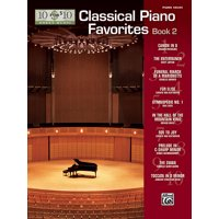 10 for 10 Sheet Music -- Classical Piano Favorites, Bk2 (Paperback)